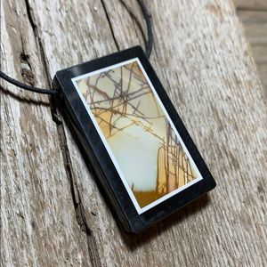 💄Handmade OOAK vintage infusion pendant necklace